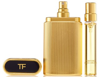 Tom Ford Black Orchid and Velvet Orchid travel atomizers