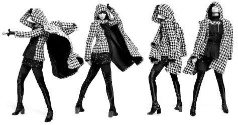 Mariacarla Boscono for Chanel Prefall 2016