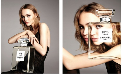 Lily-Rose Depp for Chanel No. 5 L'Eau