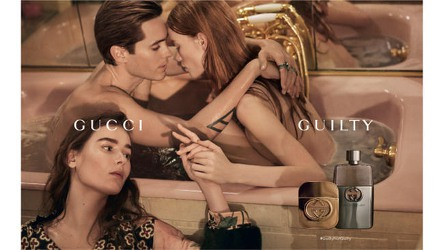 ared Leto, Julia Hafstrom and Vera Van Erp for Gucci Guilty