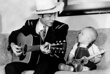 Hank Williams and Hank Williams Jr