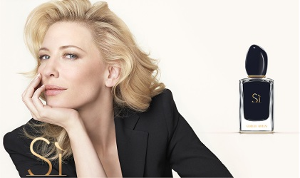Cate Blanchett for Giorgio Armani Sì Intense