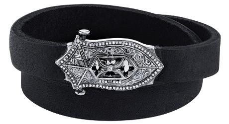 By Kilian + Loree Rodkin Engraved Shield Bracelet