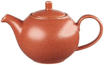 Churchill Stonecast Spiced Orange Tea Pot