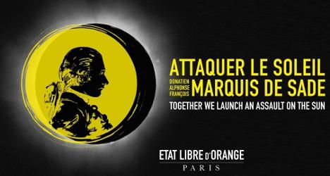Etat Libre d'Orange Attaquer Le Soleil Marquis de Sade, brand image