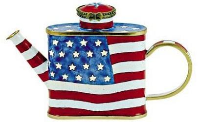 Kelvin Chen American Flag Teapot