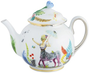 Christian Lacroix Caribe Tea Pot by Vista Alegre