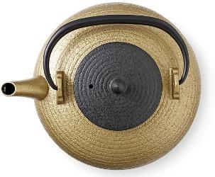 Orbits Tatara Gold cast iron teapot