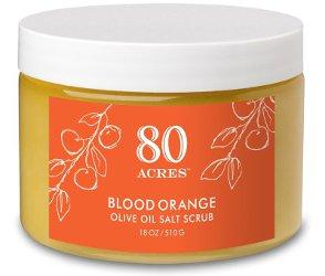 80 Acres Blood Orange Olive Oil Salt Scrub