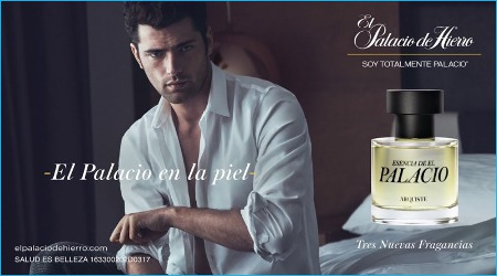 Sean O'Pry for Arquiste Esencia de El Palacio