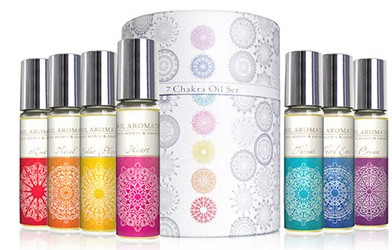 April Aromatics 7 Chakra Oil Set