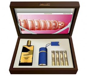 Memo Italian Leather Orient Express gift set