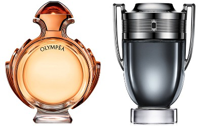 Paco Rabanne Invictus Intense and Olympéa Intense