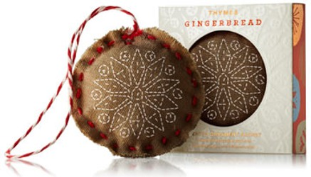 Thymes gingerbread ornament