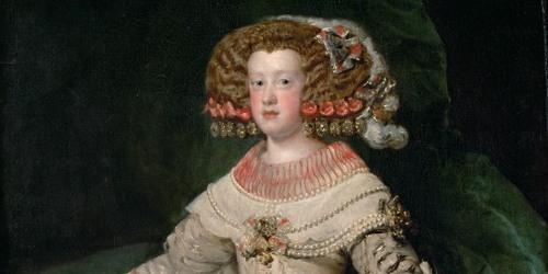 The infanta Maria Theresa aged 14