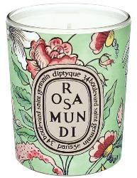Antoinette Poisson design for Diptyque Rosamundi candle