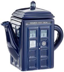 Doctor Who Tardis Ceramic Teapot
