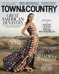 Aerin Lauder for Town & Country, September 2012