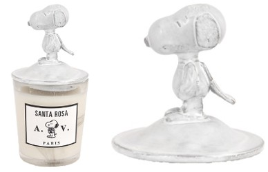 Astier Villatte snoopy candle lid