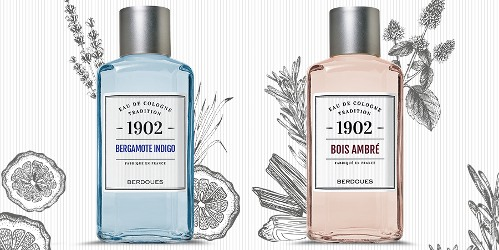Berdoues Bergamote Indigo and Bois Ambré
