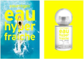 Courrèges L'Eau Hyper Fraîche, brand images