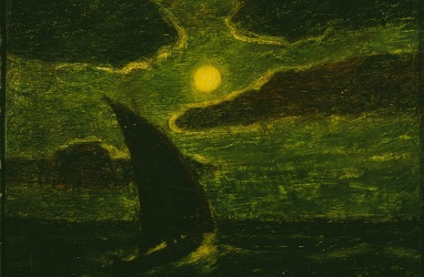 Sailing by Moonlight by Albert Pinkham Ryder