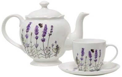 Stash lavender tea set