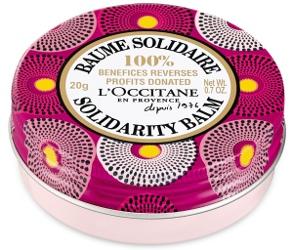 L'Occitane Shea Butter Violet Solidarity Balm