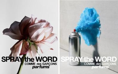 Comme des Garçons Spray The Word