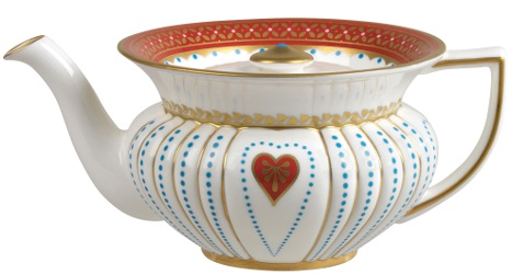 Wedgwood Queen of Hearts teapot