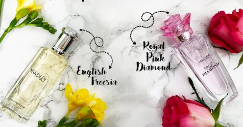 Yardley English Freesia & Royal Pink Diamond