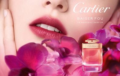 Cartier Baiser Fou, brand image