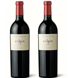 Colgin Cellars wine bottles