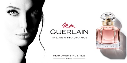 Angelina Jolie for Mon Guerlain