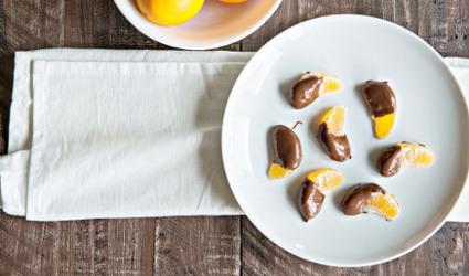 oranges and chocolates