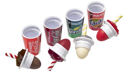 Lip Smacker Coke Cup Lip Balms, open