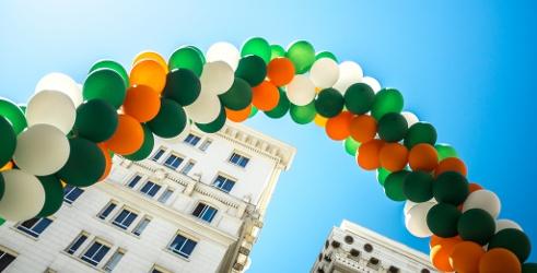 St Patrick's Day Rainbow