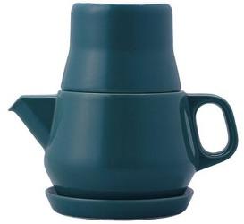Kinto Couleur porcelain teapot