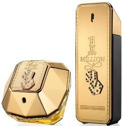Paco Rabanne Lady Million and 1 Million Monopoly collector's editions
