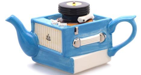 Record Player Teapot