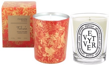 Diptyque & Christophe Robin candles