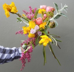 spring bouquet by Justin Waddell of Bloke Botanical