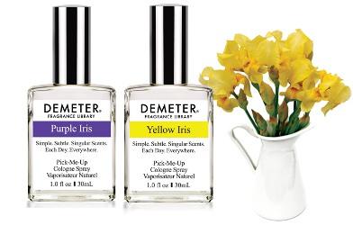 Demeter Purple Iris and Yellow Iris