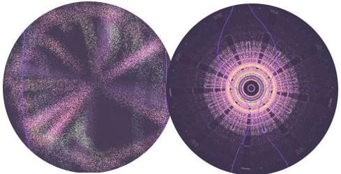 cropped pattern circles