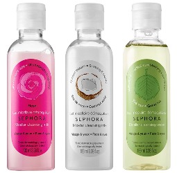 Sephora Micellar Cleansing Waters and Cleansing Milks