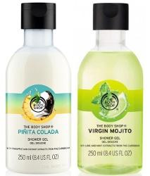 The Body Shop Piñita Colada and Virgin Mojito