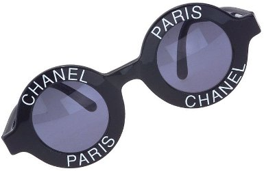 vintage Chanel glasses