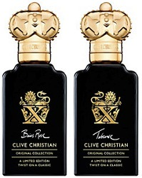 Clive Christian X Twist Baies Rose & X Twist Tuberose