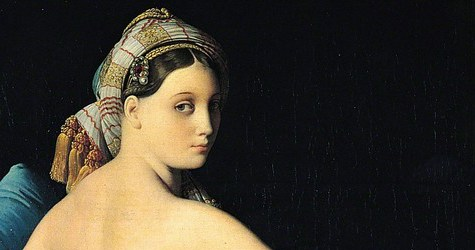 detail from Grande Odalisque