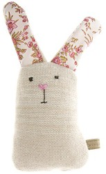 Knitted Rabbit Dog Toy from Mungo & Maud